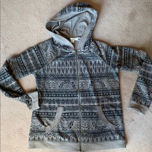 ROXY zip up hoody